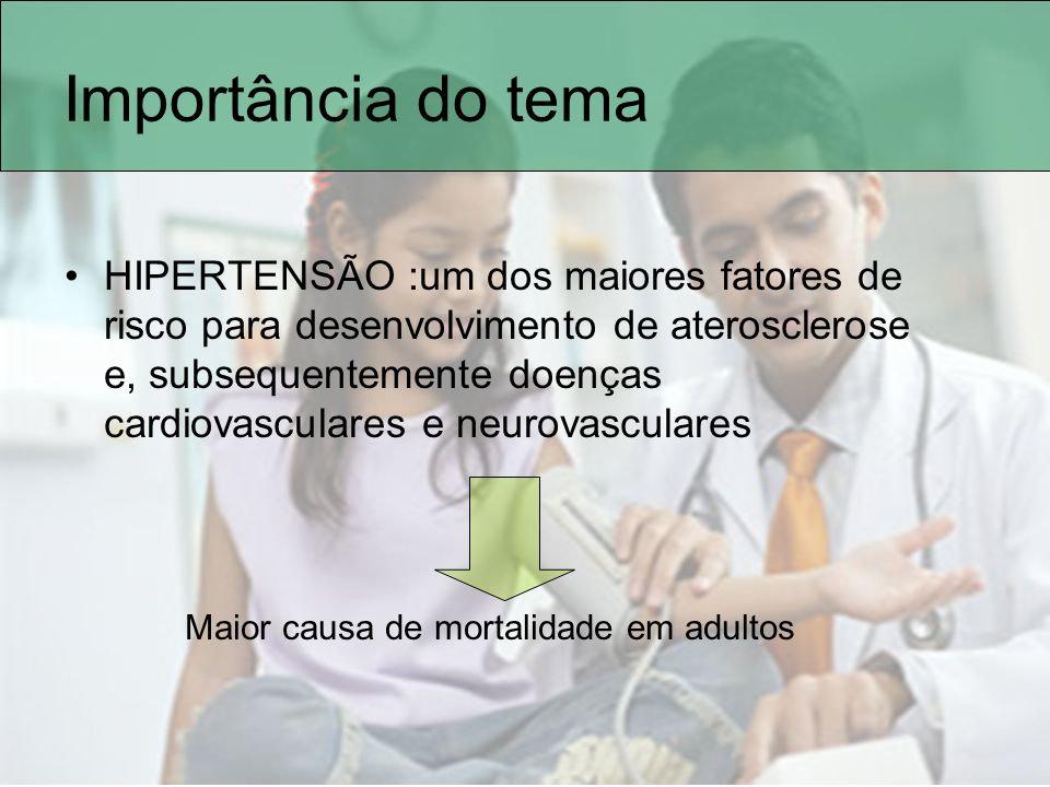 Etiologia Primária (essencial) –Sem causa definida –Mais comum em adolescentes –Multifatorial –Aumento de sua prevalência com o aumento da obesidade Sorof,JM.