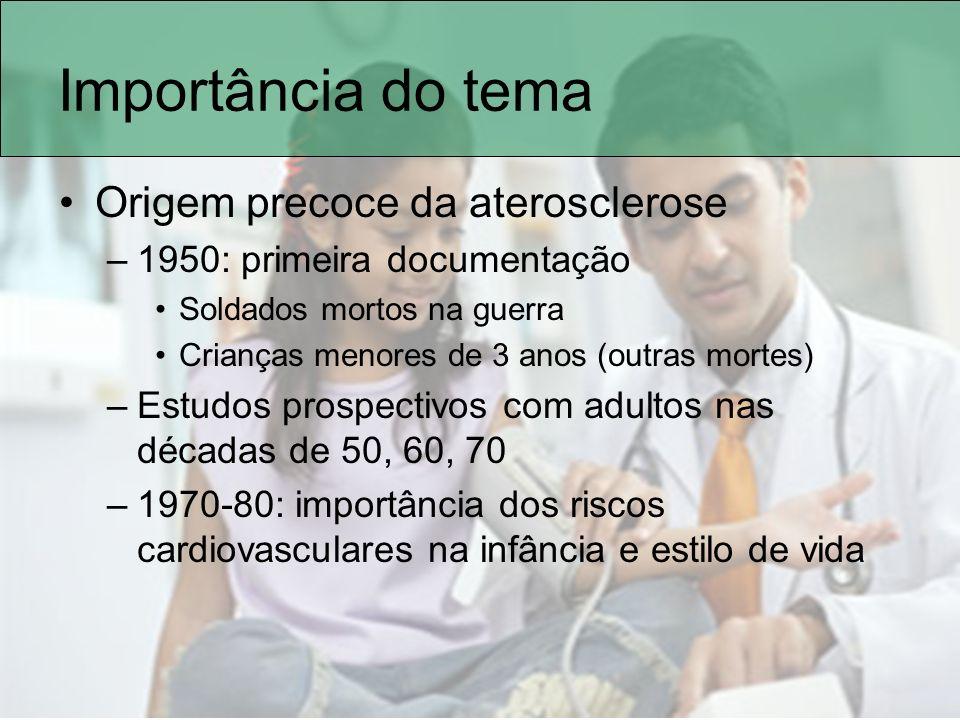 Determinantes da pressão arterial Crescer ou não crescer –Catch-up Ganho de peso nos primeiros 2 anos contribui para a massa magra; Ganho de peso após os 3 anos contribui para o aumento de tecido gorduroso Lucas A, 2006 Greer FR, 2007