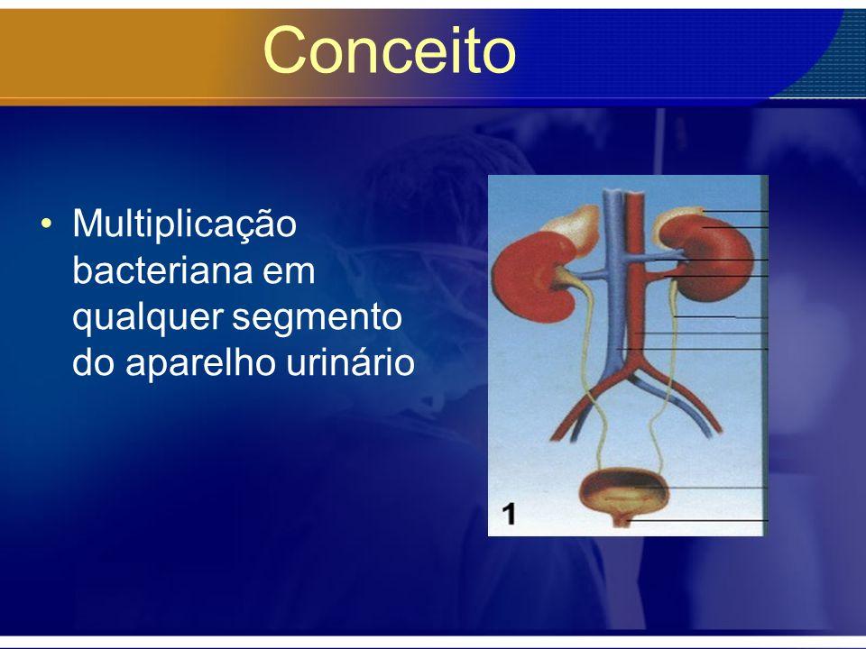 Tratamento Objetivos do tratamento –Eliminar a infecção aguda –Prevenir a urosepsis –Reduzir chance de dano renal Pediatrics 1999:103(4)-843-52