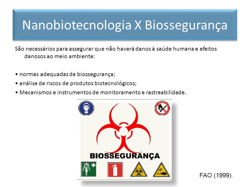 São necessários para assegurar que não haverá danos à saúde humana e efeitos danosos ao meio ambiente: normas adequadas de biossegurança; análise de r