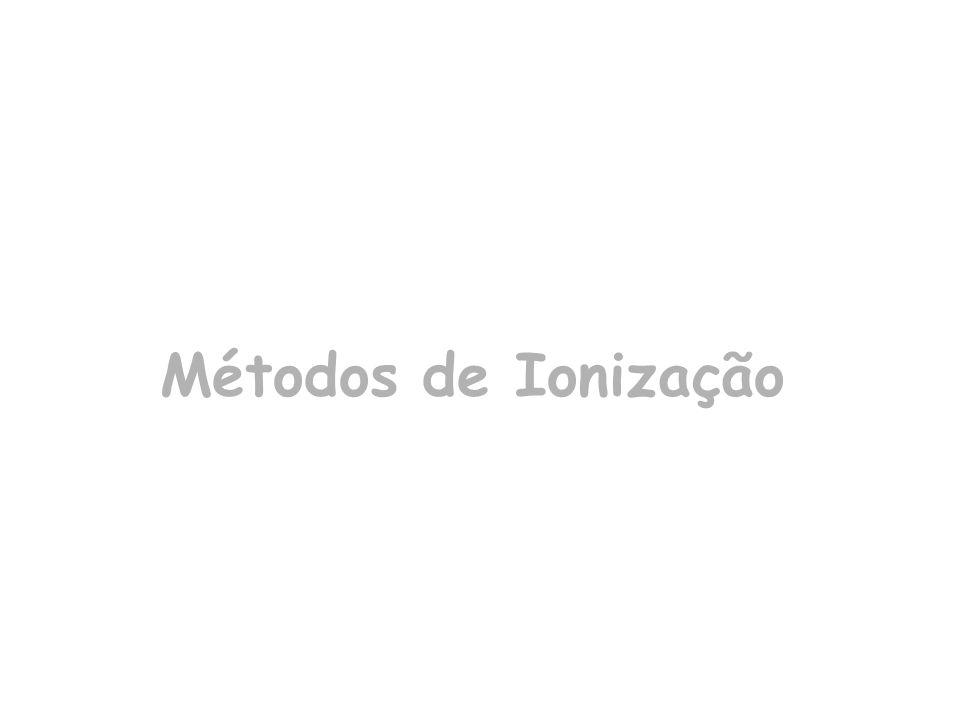 Métodos de Ionização