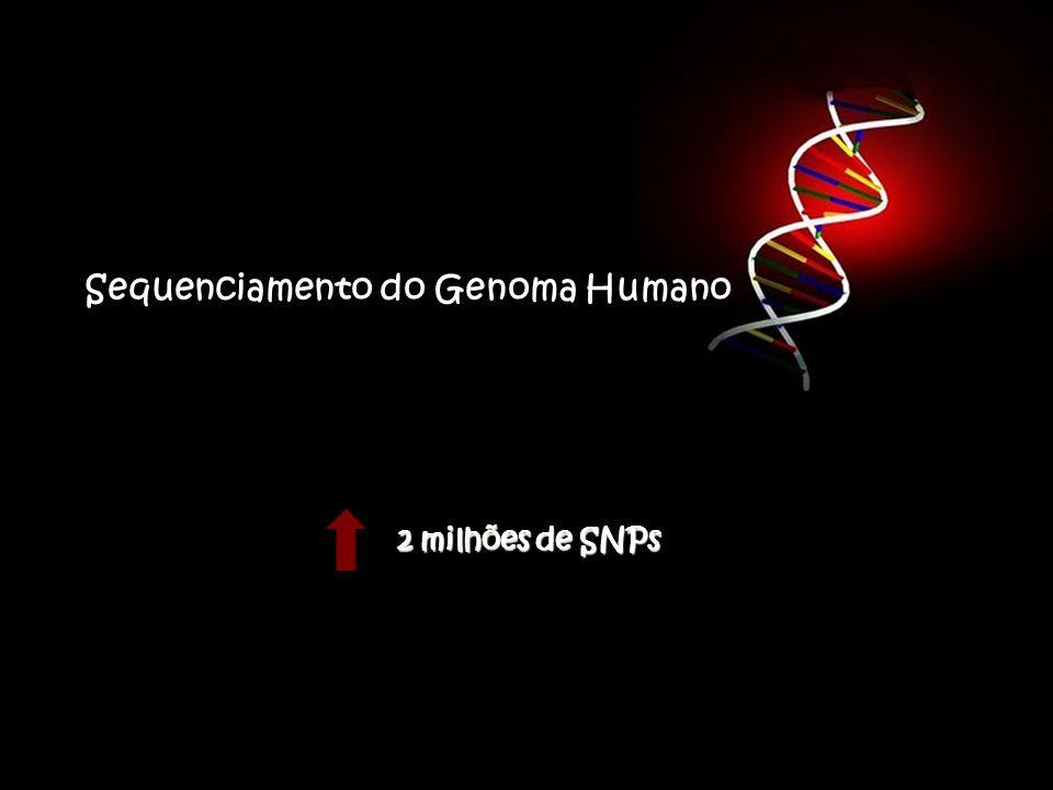 Sequenciamento do Genoma Humano 2 milhões de SNPs