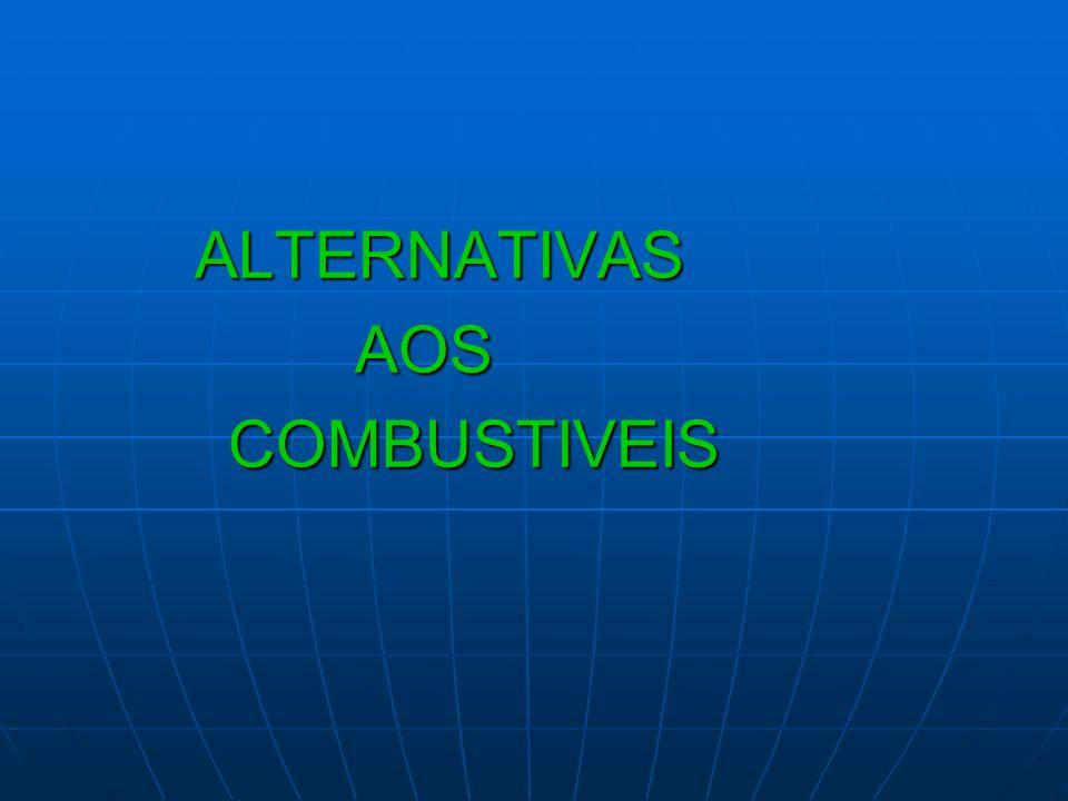 ALTERNATIVAS ALTERNATIVAS AOS AOS COMBUSTIVEIS COMBUSTIVEIS