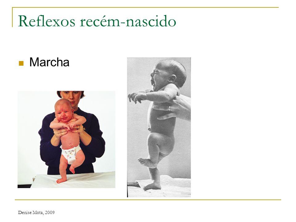 Denise Mota, 2009 Reflexos recém-nascido Sucção Pontos cardeais
