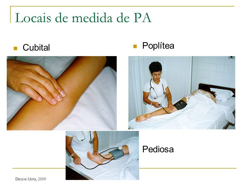 Denise Mota, 2009 Tabelas de pressão arterial