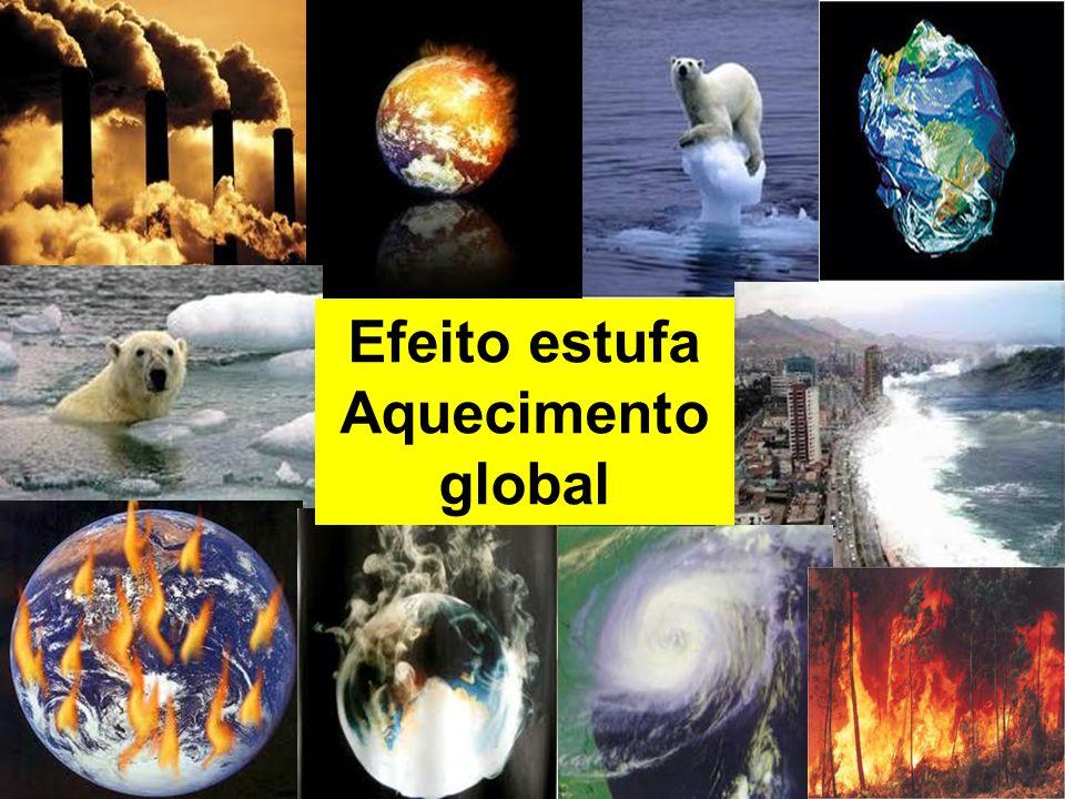 Efeito estufa Aquecimento global