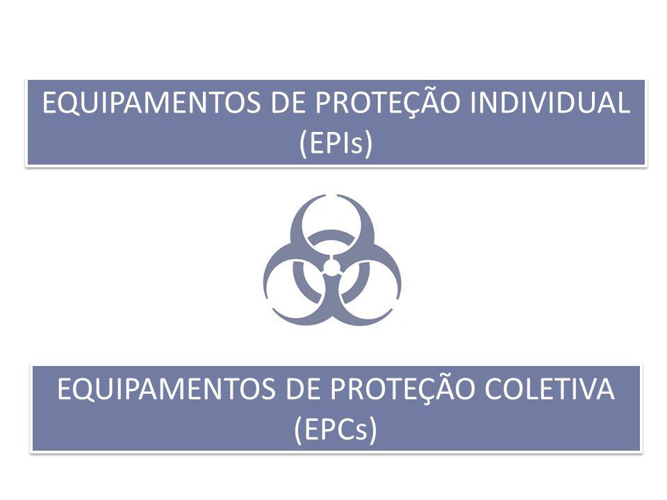 EQUIPAMENTOS DE PROTEÇÃO INDIVIDUAL (EPIs) EQUIPAMENTOS DE PROTEÇÃO COLETIVA (EPCs)