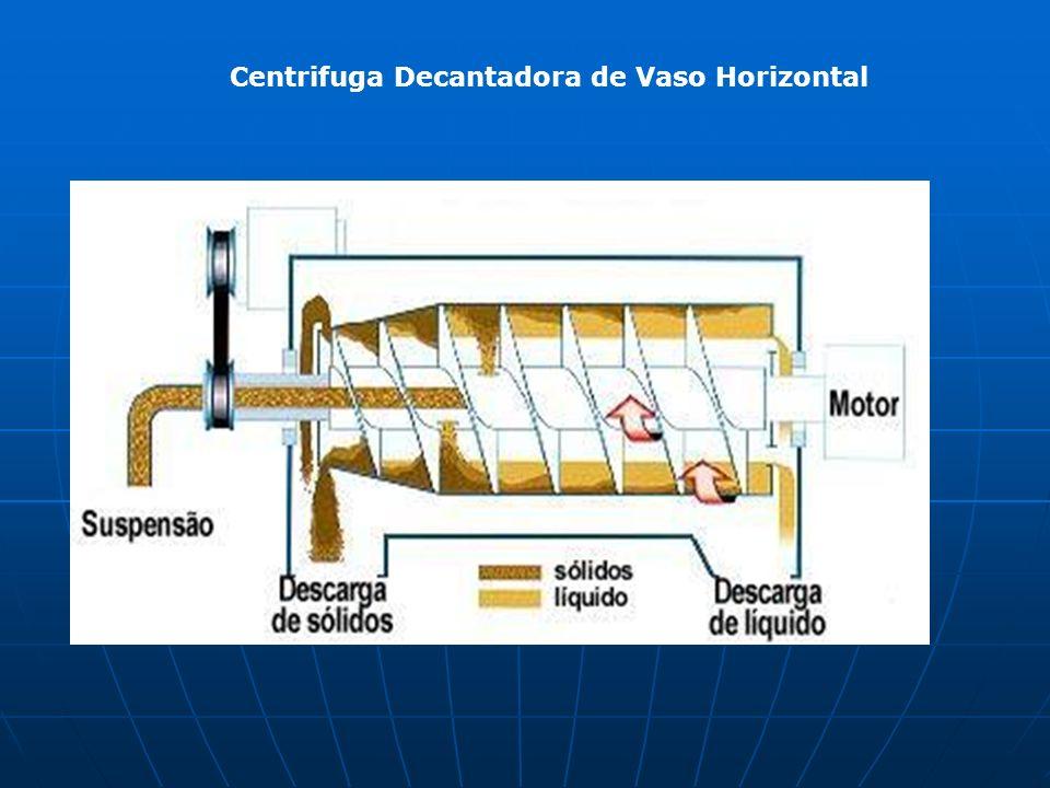 Centrifuga Decantadora de Vaso Horizontal