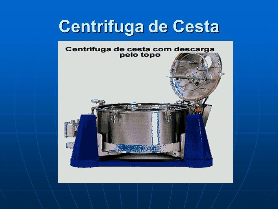 Centrifuga de Cesta