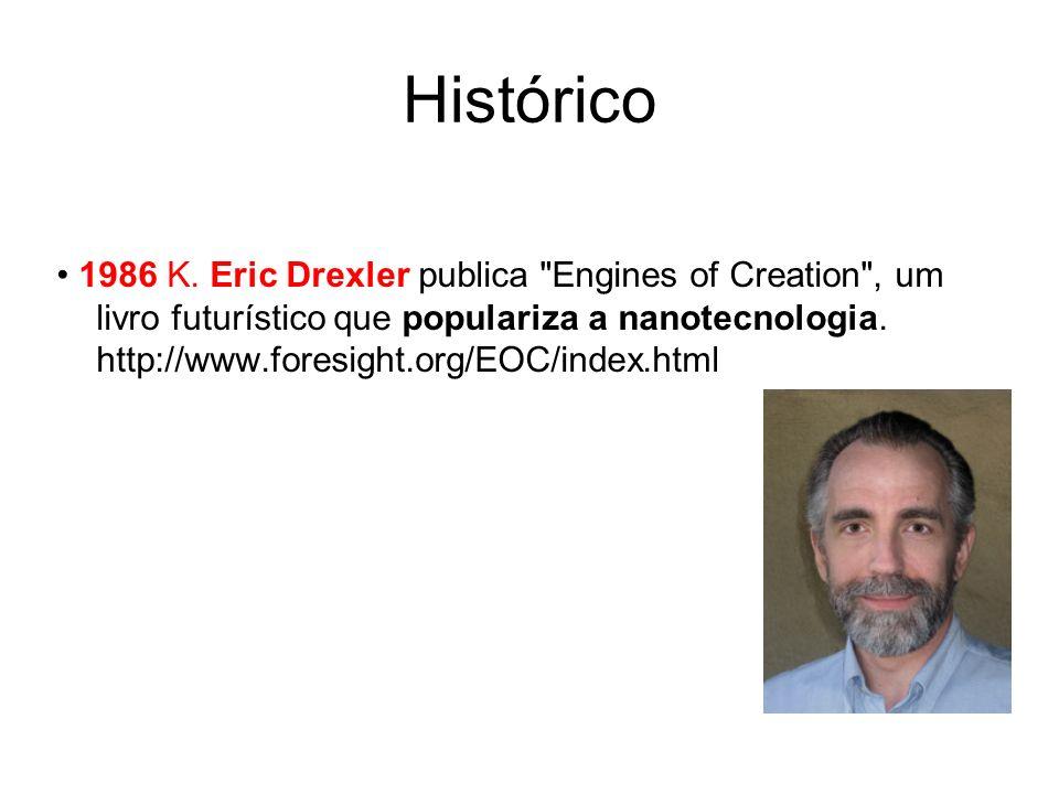 1986 K. Eric Drexler publica