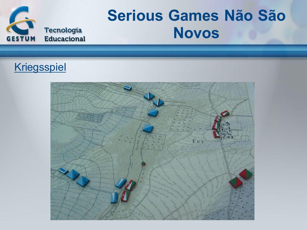 Serious Games Não São Novos Kriegsspiel