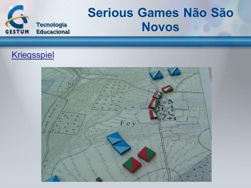 Kriegsspiel Serious Games Não São Novos