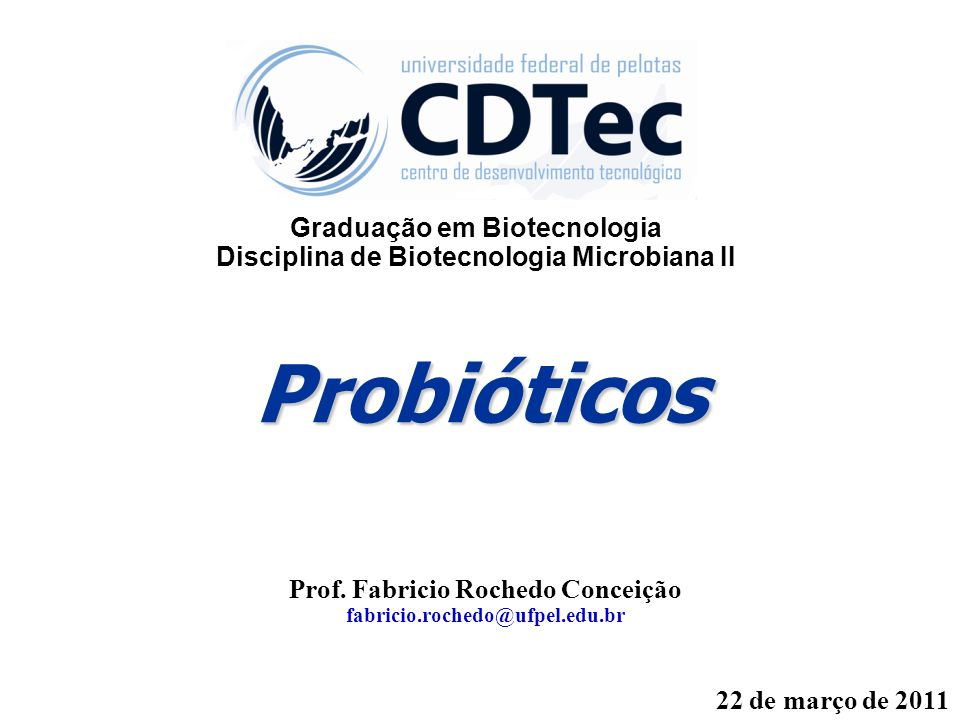 Probióticos Prof.
