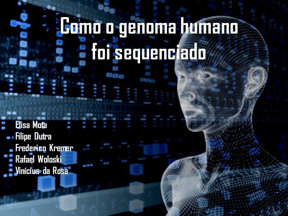 Como o genoma humano foi sequenciado Elisa Mota Filipe Dutra Frederico Kremer Rafael Woloski Vinícius da Rosa