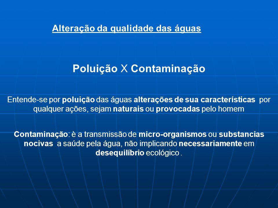 Poluição Contaminação