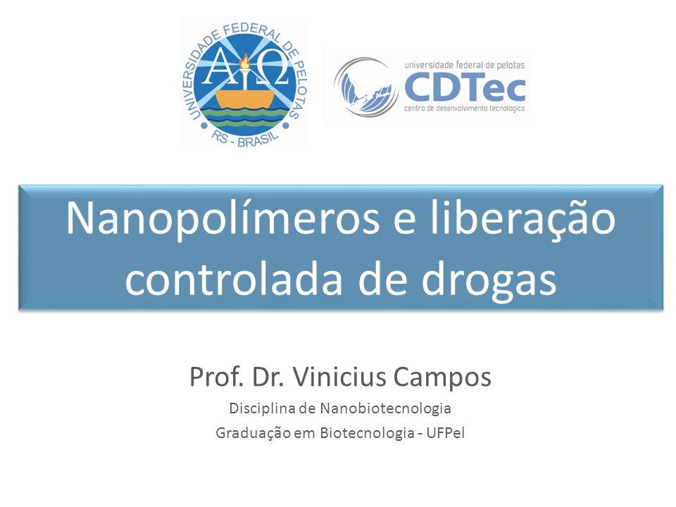 Nanopolímeros e liberação controlada de drogas Prof.