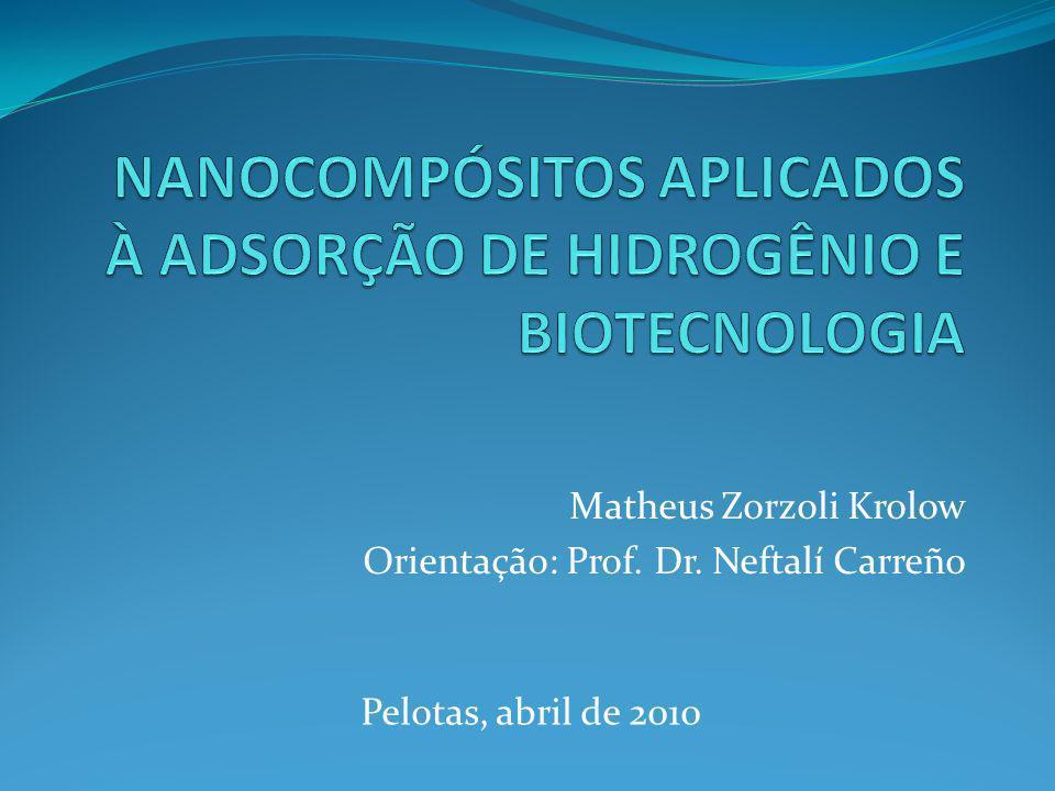 Matheus Zorzoli Krolow Orientação: Prof. Dr. Neftalí Carreño Pelotas, abril de 2010