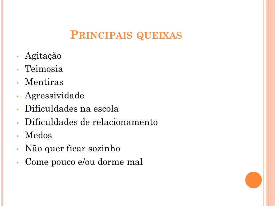 REFERÊNCIAS BIBLIOGRÁFICAS Rutters Child and Adolescent Psychiatry, 5th edition, 2008.