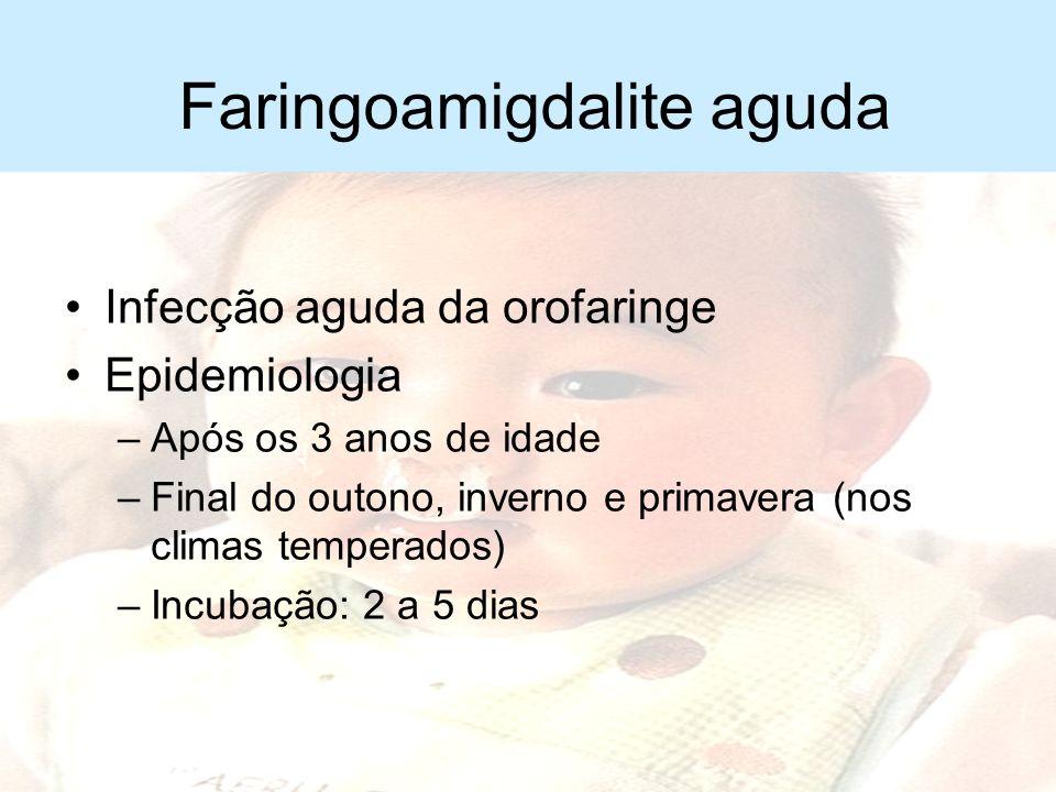 Sinusite aguda Tratamento –Repouso inicial –Analgésico e antitérmico –Antimicrobianos Amoxacilina Cefuroxima ou amoxacilina com clavulanato Claritromi