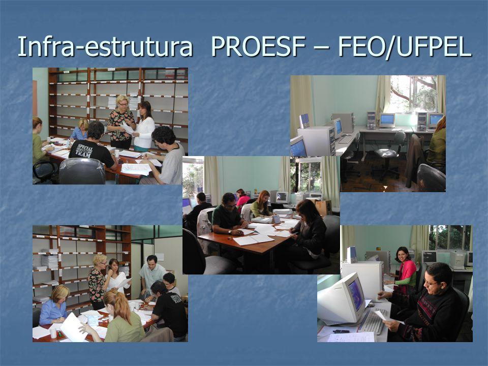 Infra-estrutura PROESF – FEO/UFPEL