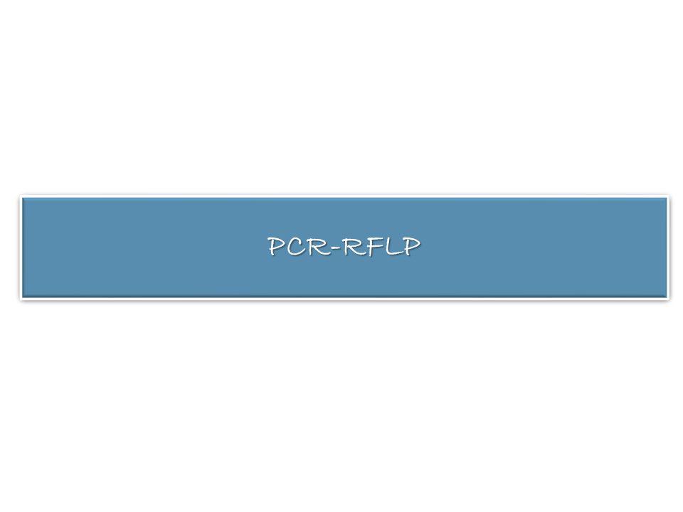 PCR-RFLPPCR-RFLP