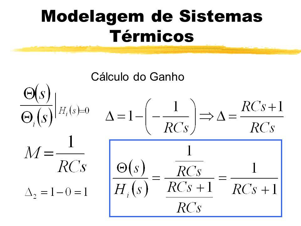 Modelagem de Sistemas Térmicos s -1