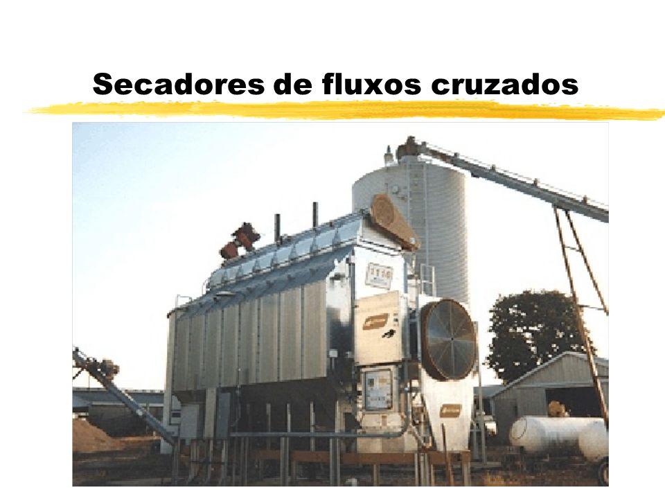 Secadores de fluxos cruzados