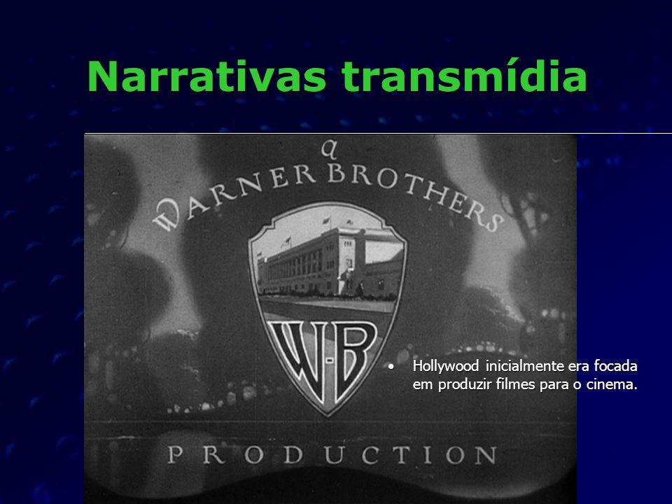 Narrativas transmídia A Warner Bros.