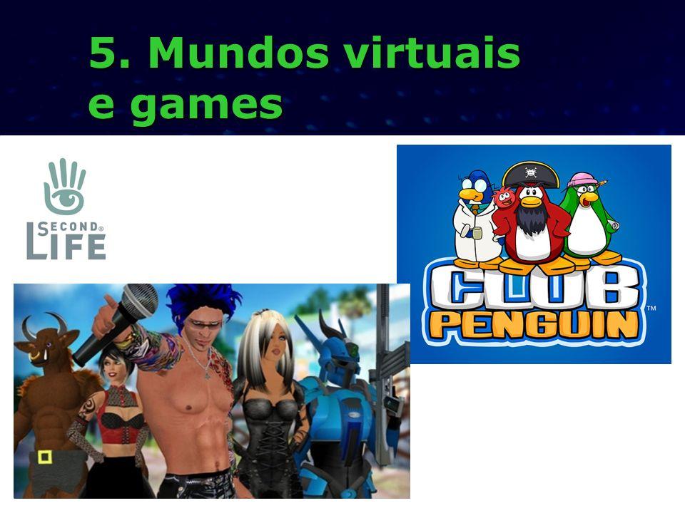 5. Mundos virtuais e games werwrrwer werwrrwer