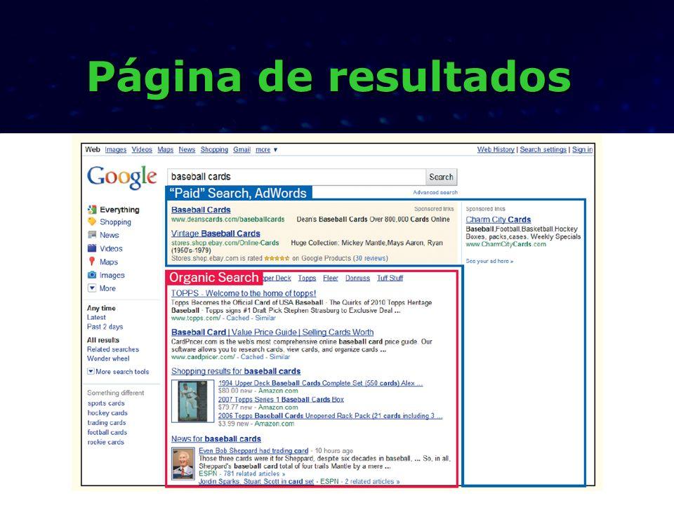 Dicas do Google Algoritmo de pontuação do Google: PageRank