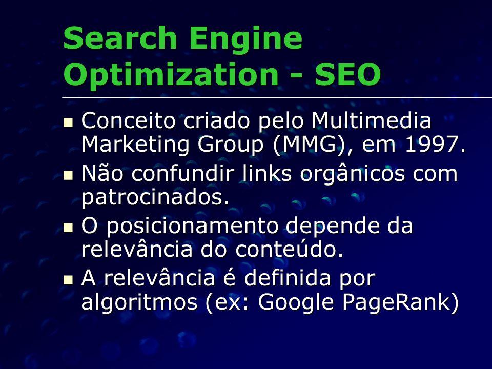 Conceito criado pelo Multimedia Marketing Group (MMG), em 1997.