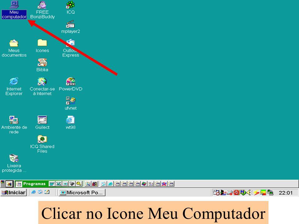 Clicar no Icone Meu Computador