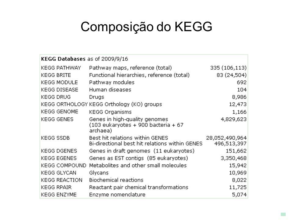 Composição do KEGG