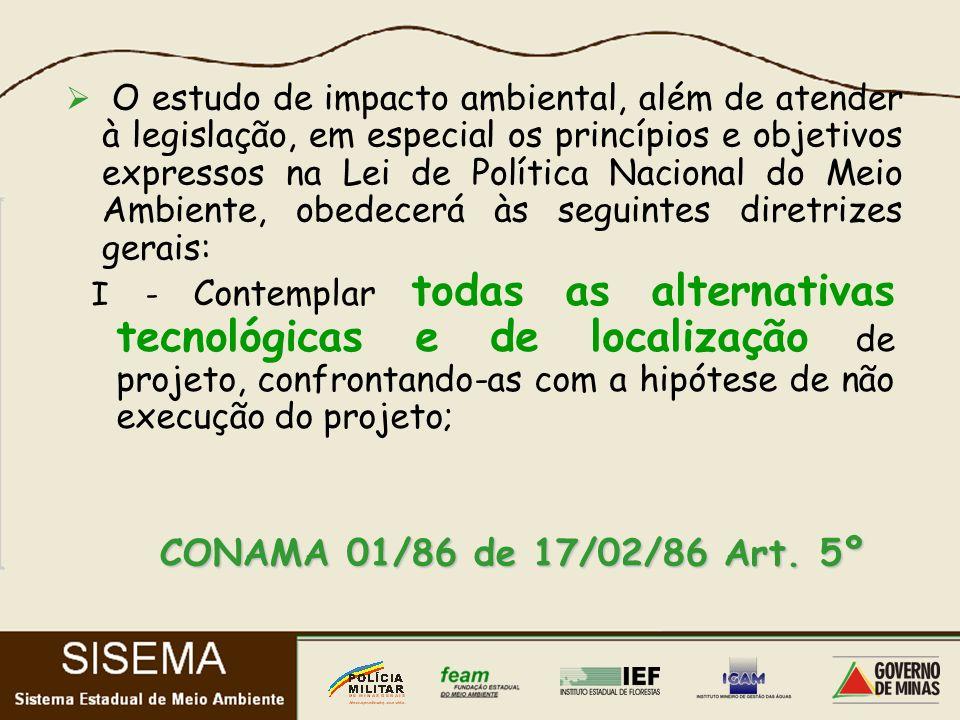 CONAMA 01/86 de 17/02/86 Art.