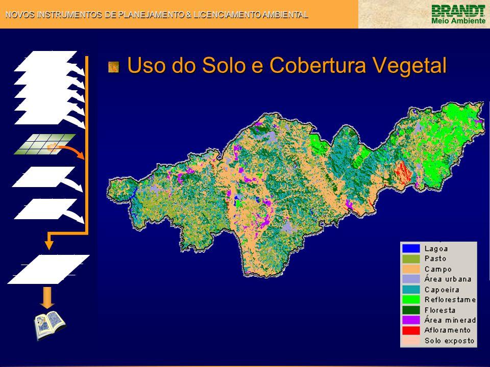 NOVOS INSTRUMENTOS DE PLANEJAMENTO & LICENCIAMENTO AMBIENTAL Uso do Solo e Cobertura Vegetal