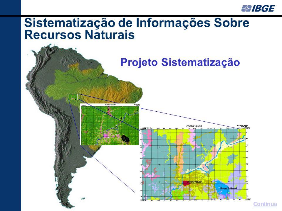 Vegetação atualizada com auxílio da carta imagem Sistematização de Informações Sobre Recursos Naturais