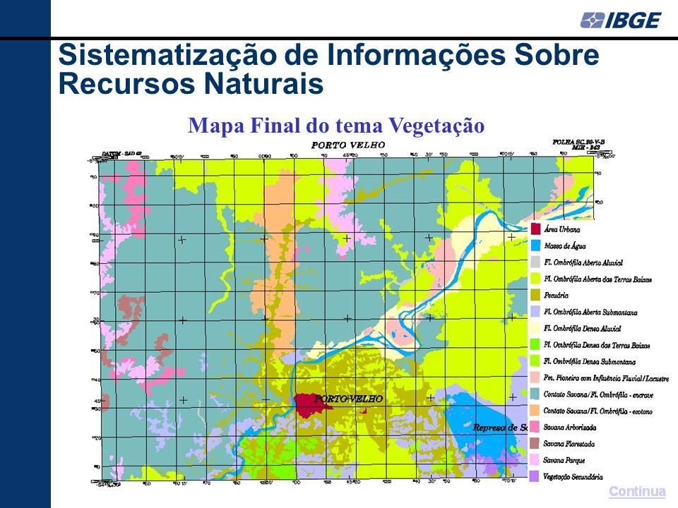 Sistematização de Informações Sobre Recursos Naturais AMAZÔNIA LEGAL Brasil: 8 547 403,5 km 2 - 555 Cartas Amazônia Legal: 5 217 423 km 2 (61%) - 316 cartas MT AC AM RR AP TO MA RO PA