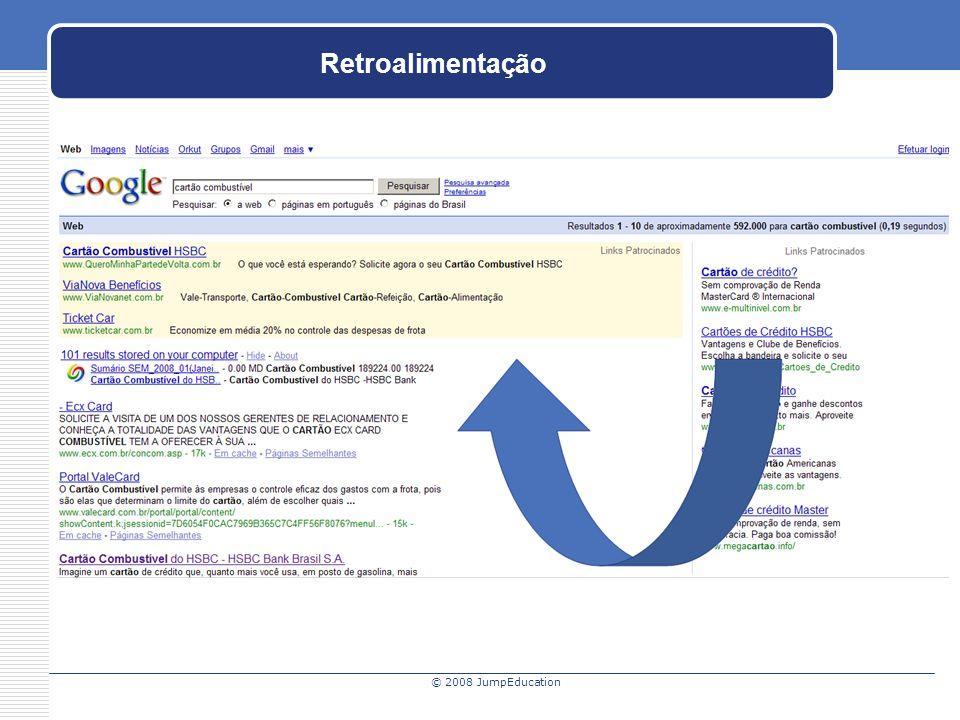 © 2008 JumpEducation Retroalimentação