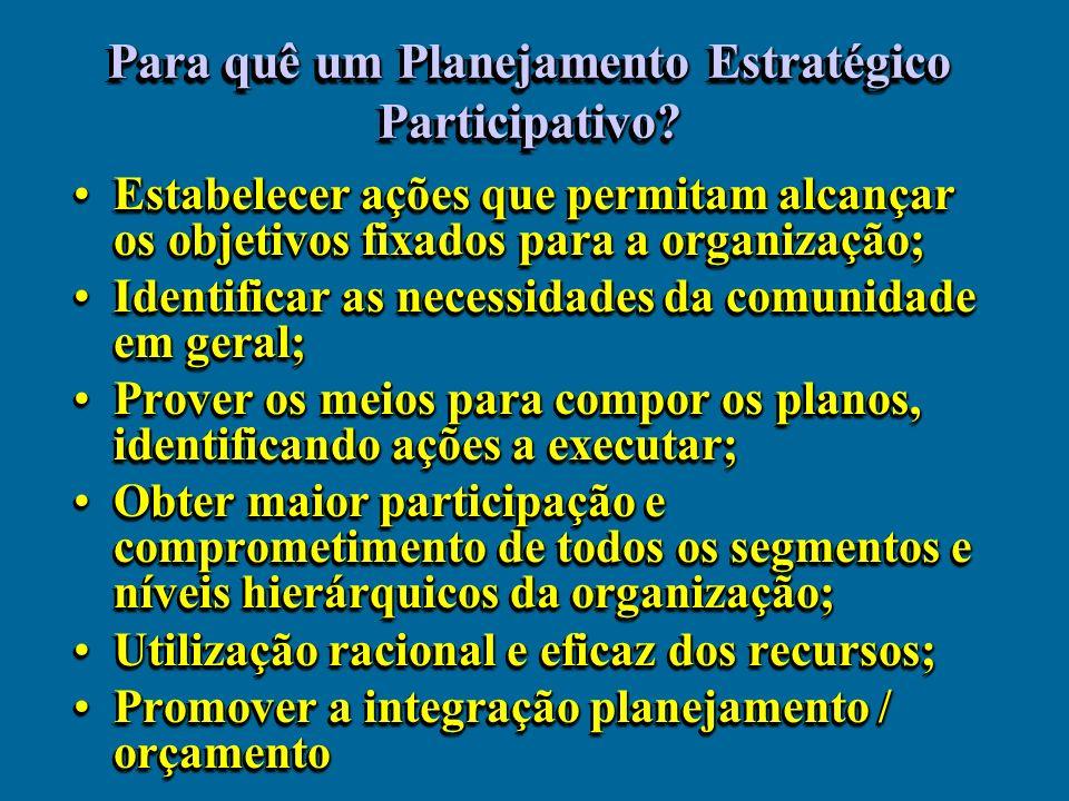 No PEI a instituição analisa o seu desempenho PASSADO, seus processos, suas relações internas e externas, seus valores, sua missão, suas condições de funcionamento e seus resultados.