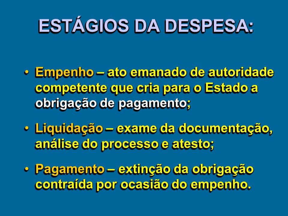 PROGRAMAÇÃO FINANCEIRA E EXECUÇÃO DA DESPESA Q.C.M.