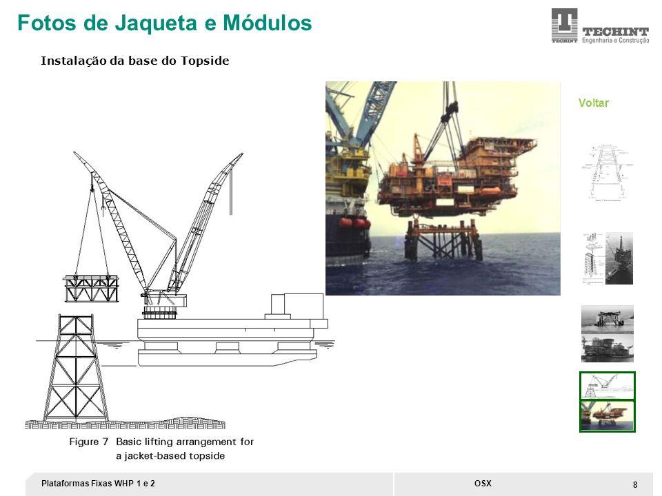Plataformas Fixas WHP 1 e 2 9 OSX Unidade da Techint no Paraná tem localização estratégica para atender o Pré-Sal Fonte: Plano Estratégico Petrobras UOT UOT – Unidade Offshore Techint Localização da UOT (Unidade Offshore Techint)