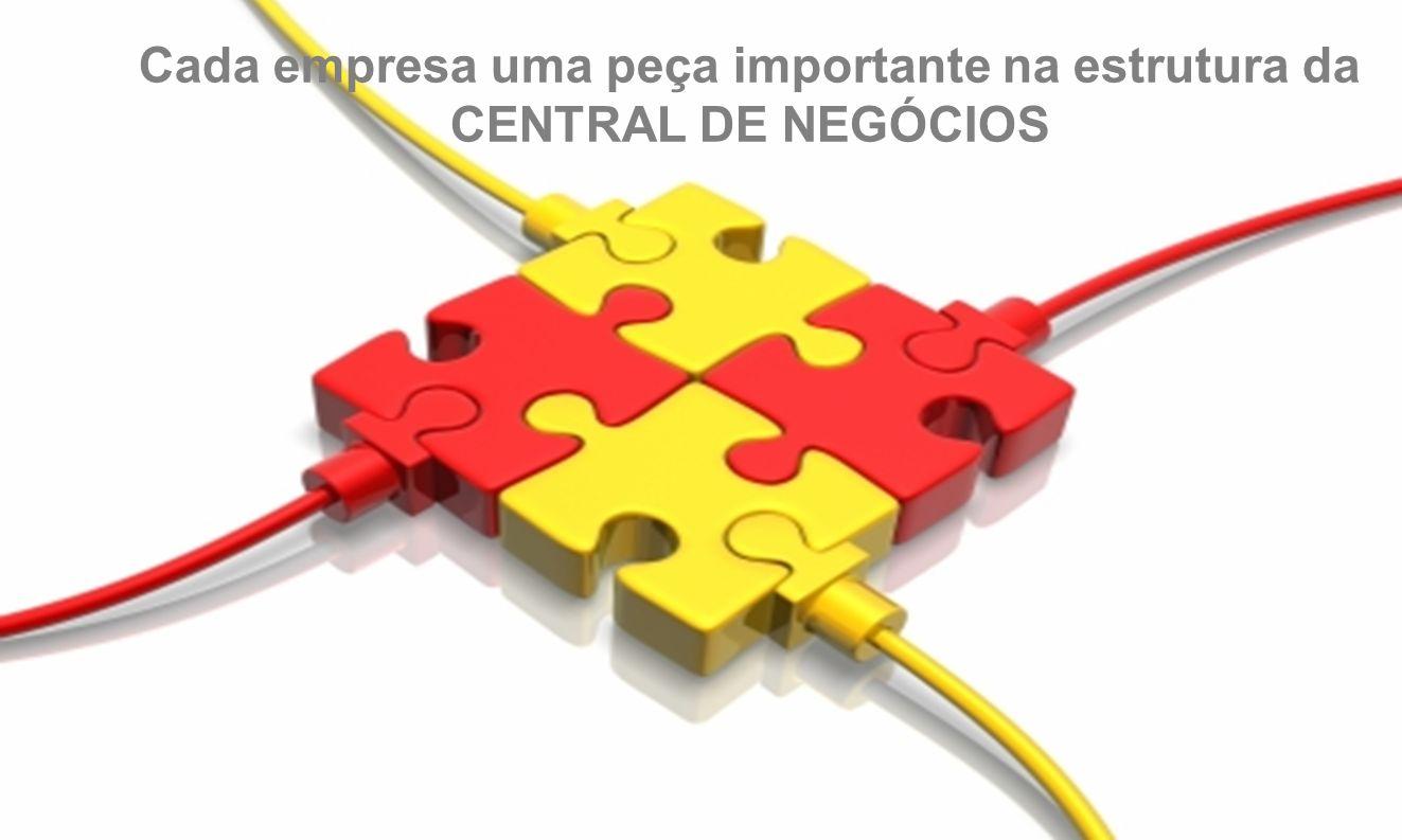 Cada empresa uma peça importante na estrutura da CENTRAL DE NEGÓCIOS