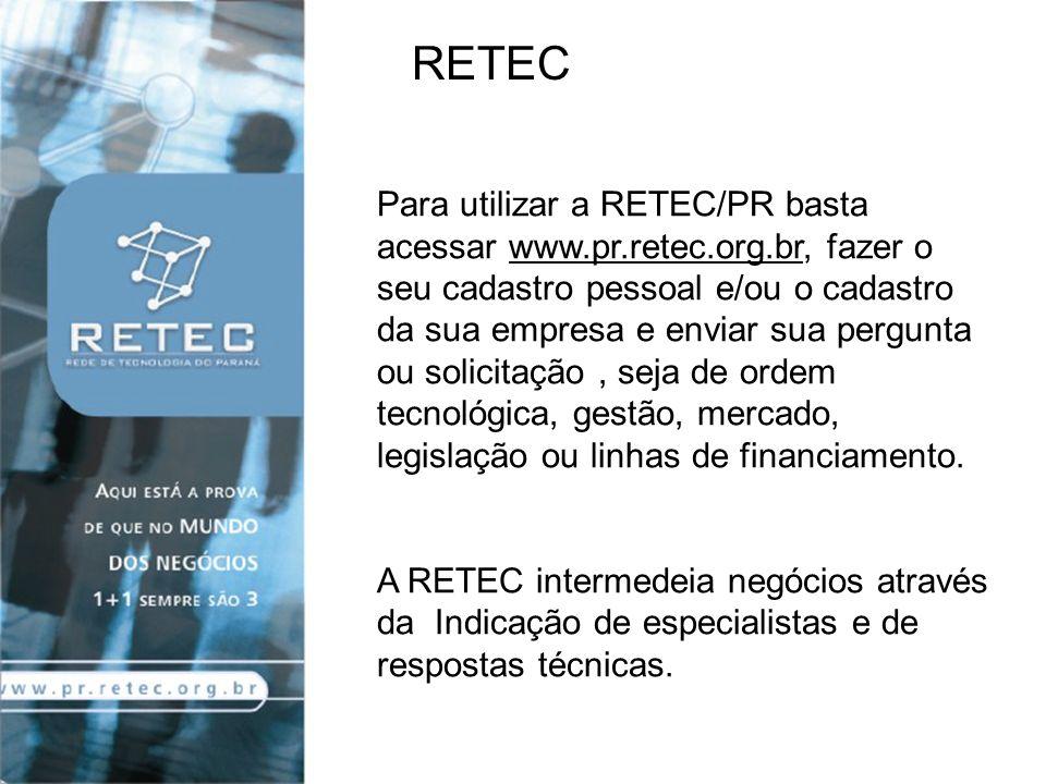 A resposta é feita de forma personalizada em até 5 dias úteis, por meio de parceiros da RETEC/PR ou de uma rede de provedores de informação de acesso público.