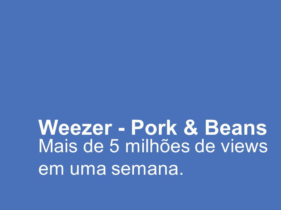 Weezer - Pork & Beans Mais de 5 milhões de views em uma semana.