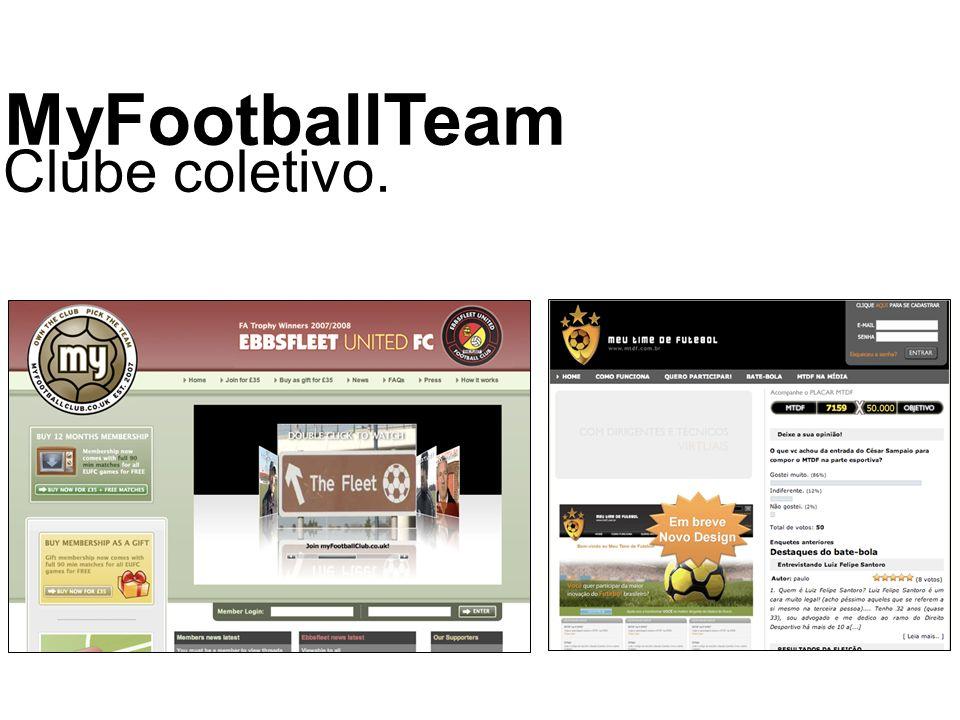 © 2008 JumpEducation MyFootballTeam Clube coletivo.