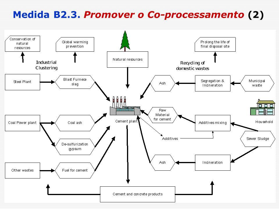 31 Medida B2.3. Promover o Co-processamento (2)