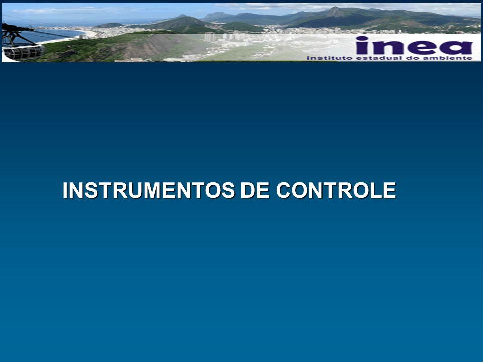 INSTRUMENTOS DE CONTROLE