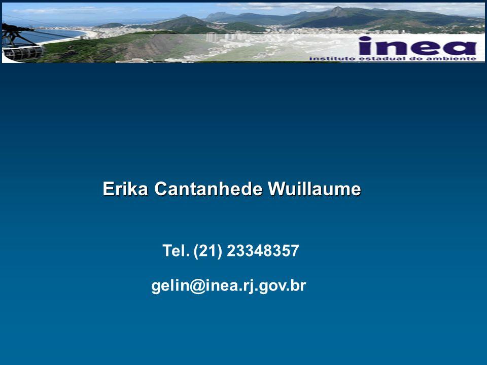 Erika Cantanhede Wuillaume Tel. (21) 23348357 gelin@inea.rj.gov.br