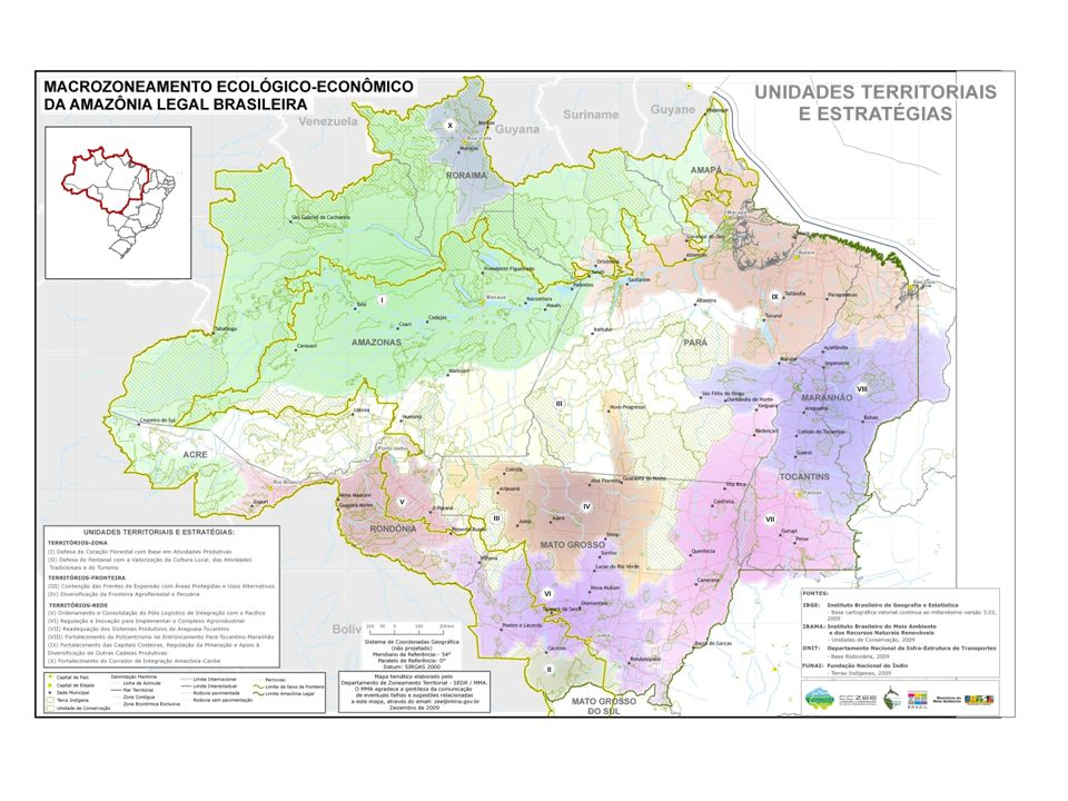Subregião II – Campos do Rio Branco Eixo do Escudo Guianês