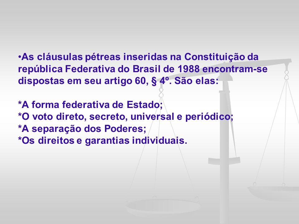 O primeiro plebiscito em nível federal foi realizado no Brasil em janeiro de 1963, para a manifestação popular acerca do sistema de governo (presidencialista ou parlamentarista)
